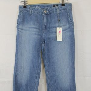 Adriano Goldschmied Layla Cropped Flare Jeans 27